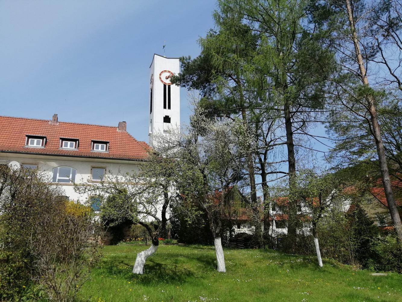 Garten der Friedenskirche